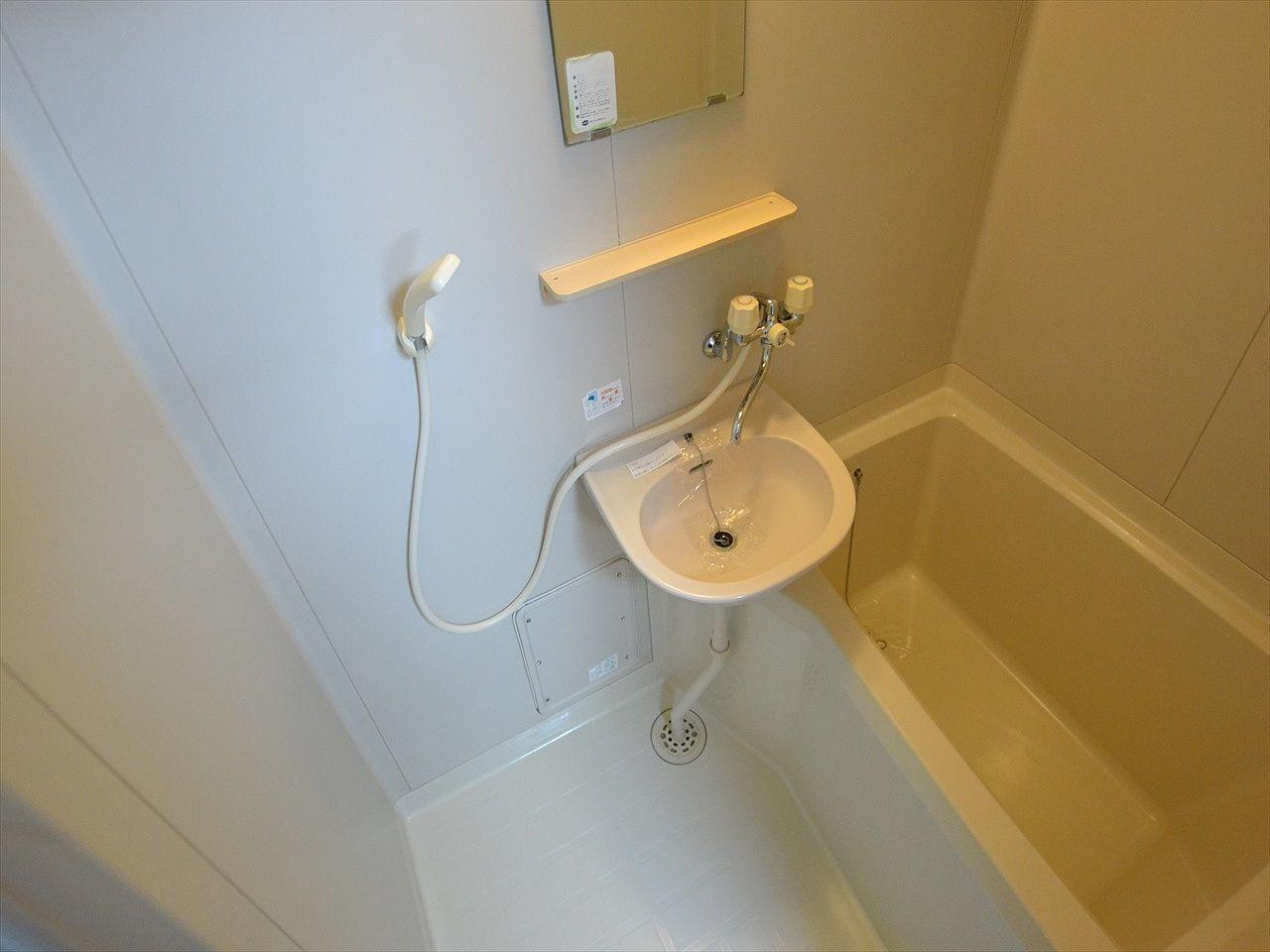 お風呂とトイレが別になっています!