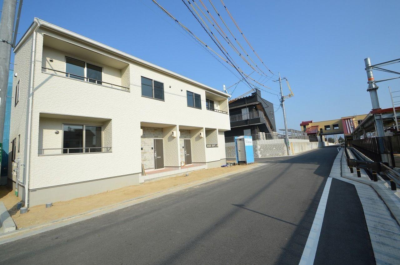 寺家駅前に新築が建ちます!!