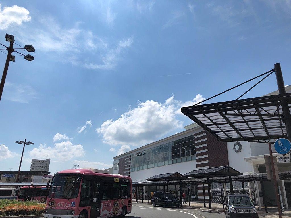 JR西条駅構内