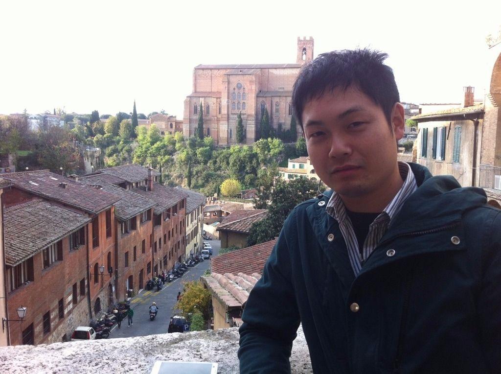 イタリアにて撮影